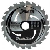Makita 190x30mm TCT Efficut Cordless Circular Saw Blade - 24 Teeth (B-64185)